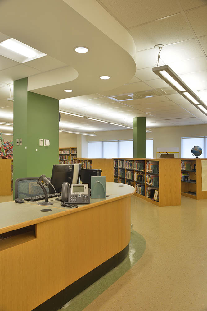Salmon River Elementary Library