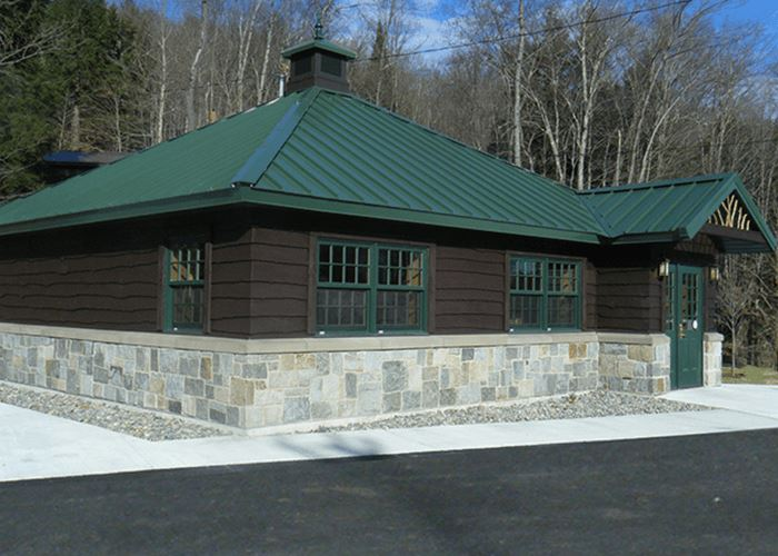 Eagle Bay Welcome Center on the TOBIE Trail