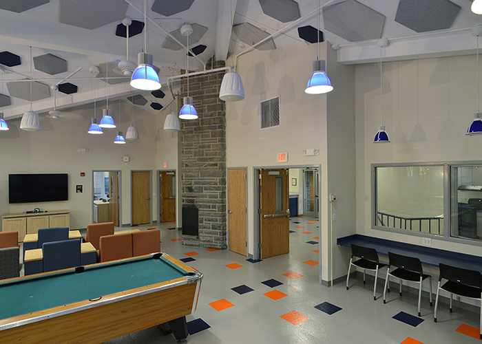 Utica College South Hall Lounge