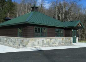 Eagle Bay Welcome Center on Tobie Trail